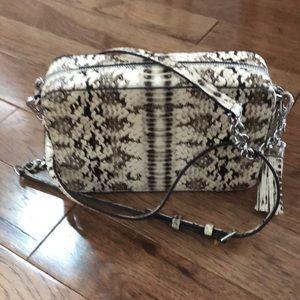 Michal Kors snake skin purse